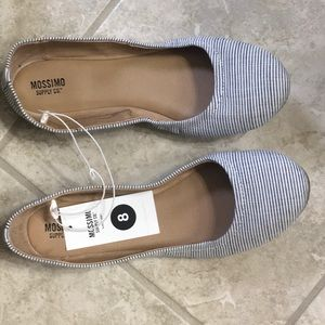 NWT skimmers size 8